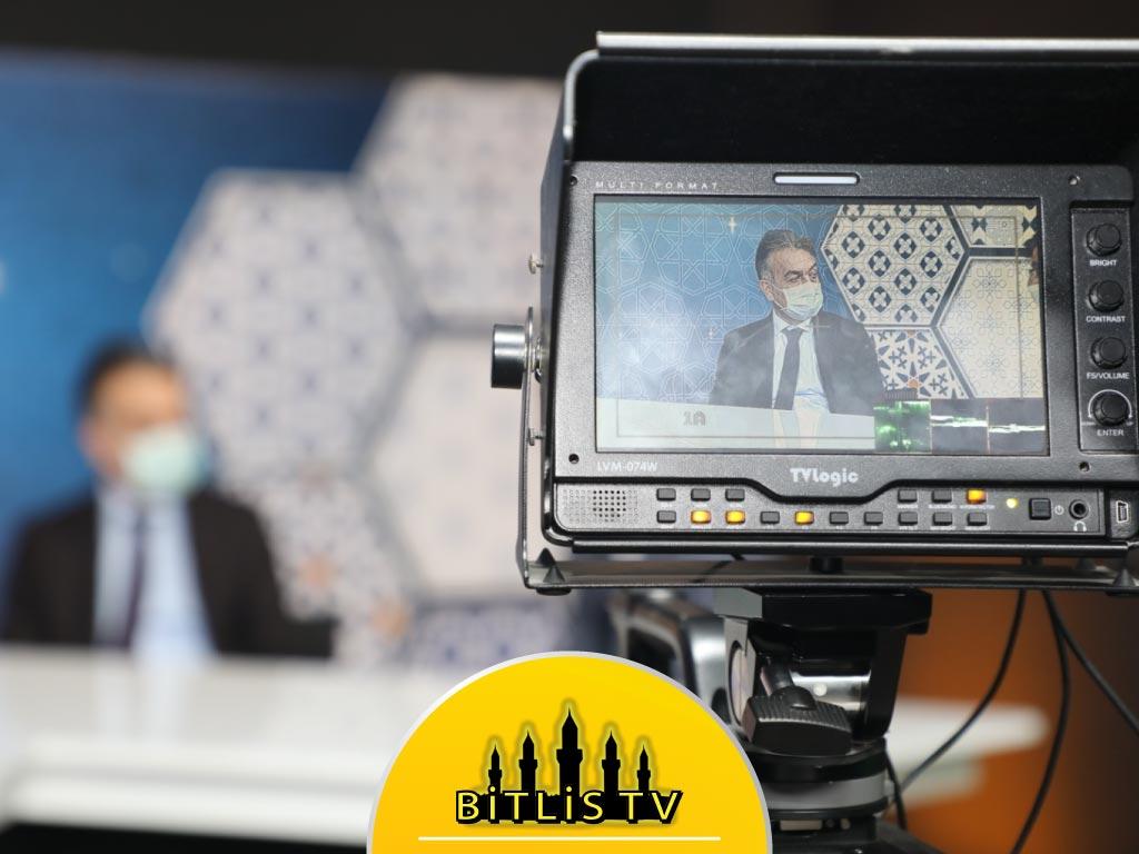 Bitlis Valisinden Bitlis TV'ye Ziyaret ve Tebrik