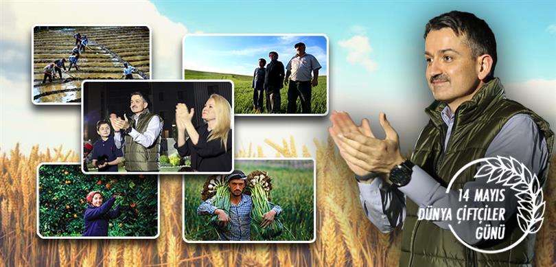 Tarım Bakanlığından Çiftçilere Alkışlı Destek