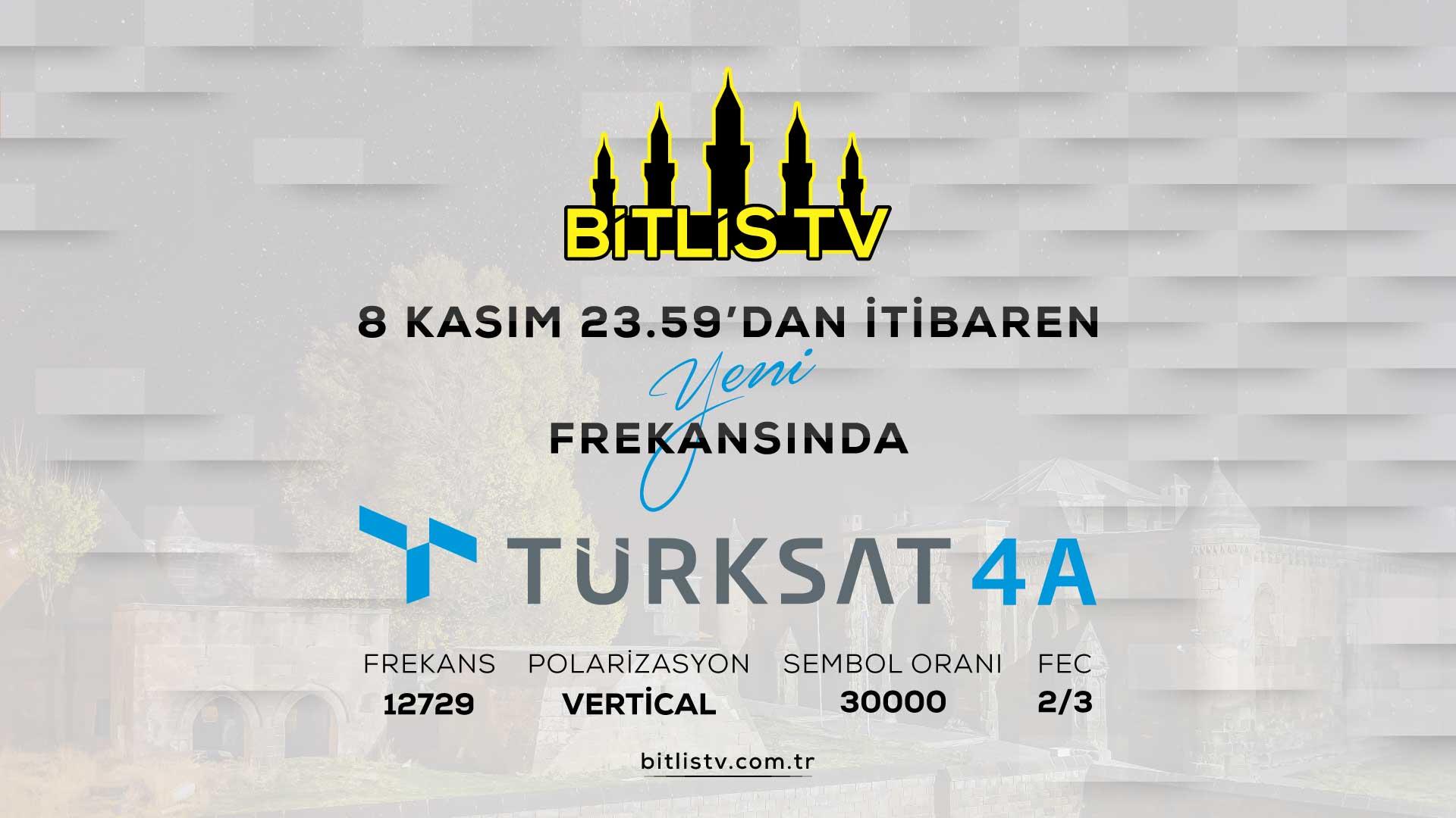 Bitlis TV Frekans Bilgileri