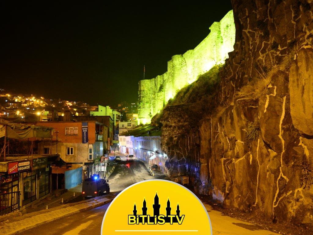 Bitlis ve Çevre İllerde Sokağa Çıkma Kısıtlamasına Uyuluyor