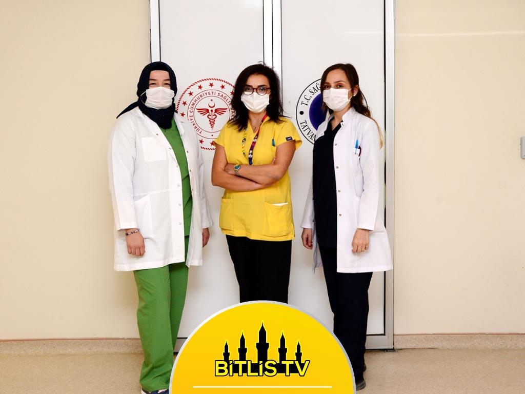 Bitlis'te Doktorlar Kovid-19 ile Mücadeleyi Anlatıyor