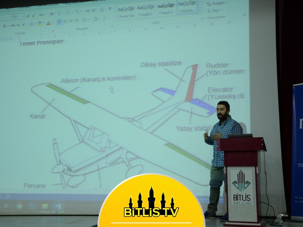 Bitlis'te Drone Teknolojisini Kullanmak Amacıyla Eğitim Veriliyor