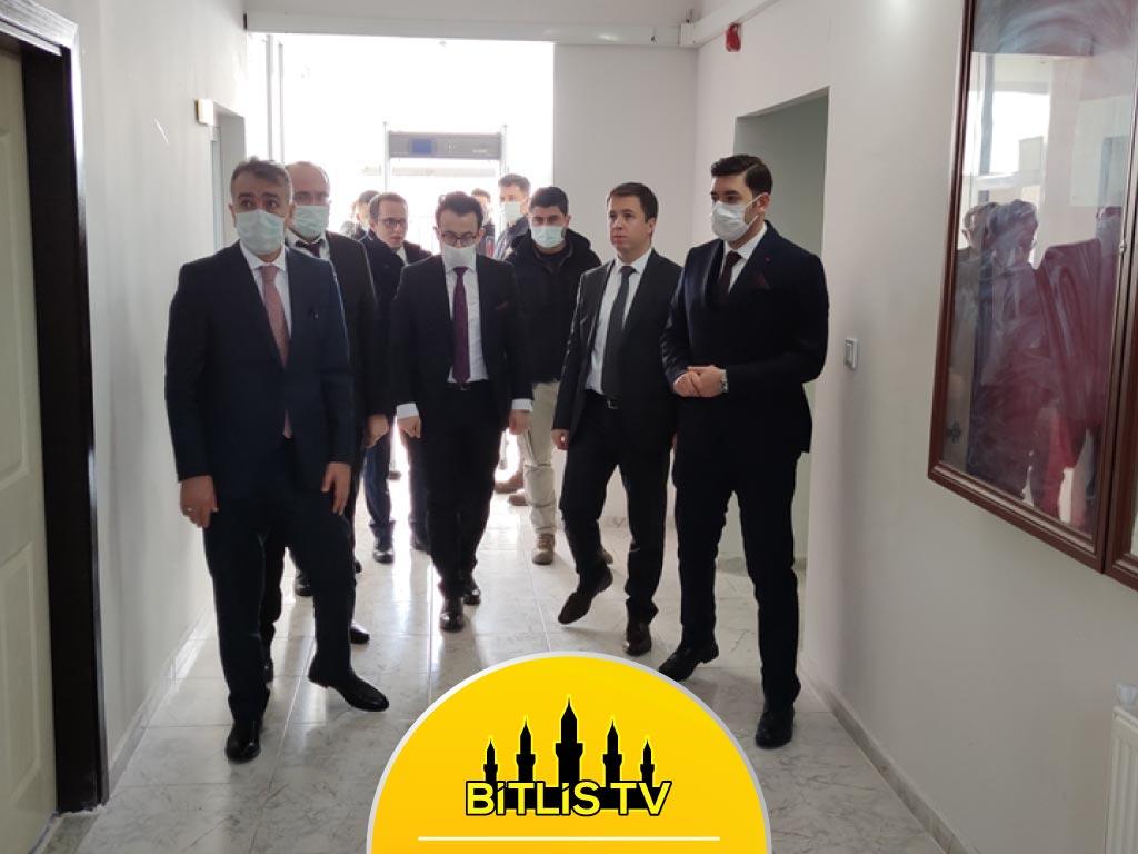 Bitlis Valisi Oktay Çağatay, Adilcevaz İlçesini Ziyaret Etti