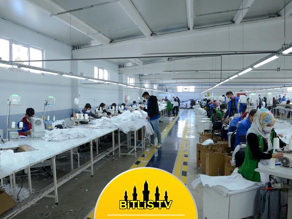 Bitlis'te Tekstilci 2 Kardeş 300 Kişiye İstihdam Sağladı