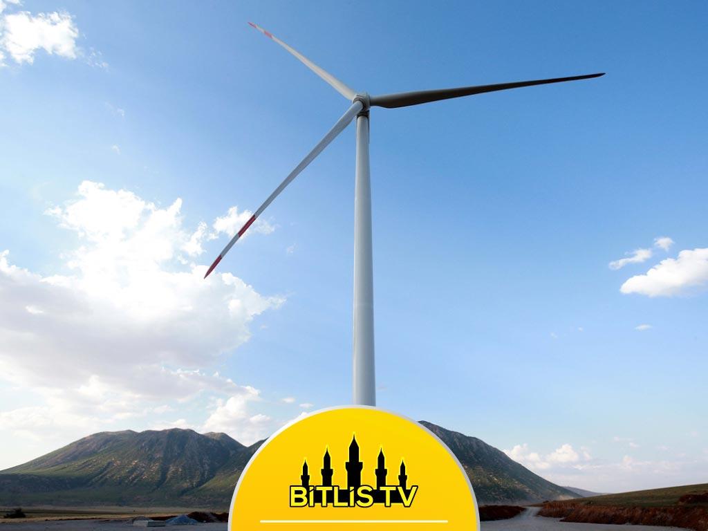 Bitlis'in Rüzgarı Elektriğe Dönüşüyor