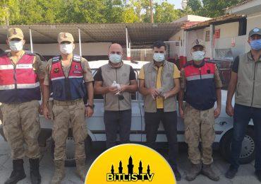 Bitlis'te Kızıl Şahin Avlayanlara Ceza