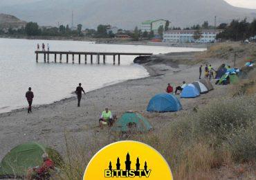Van Gölü Aktivistleri Tatvan'da Kamp Kurdu